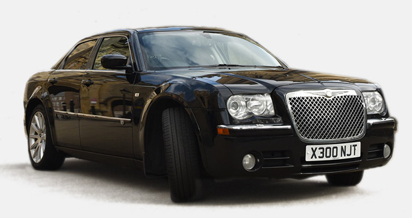 A Black 4-seater – Chrysler 300c to illustrate one choice you can make to find your perfect car
